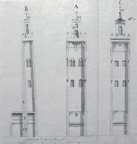 prospetto torre