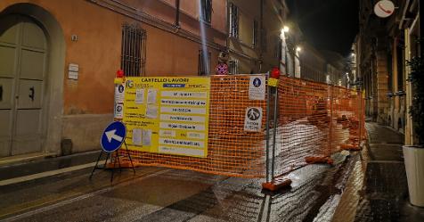 Lavori rete gas in CorsoMatteotti